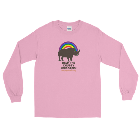 Chubby Unicorn Unisex Long Sleeve Tees
