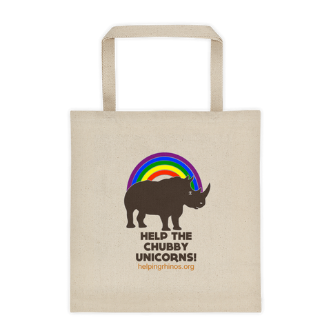 Chubby Unicorn Tote Bag