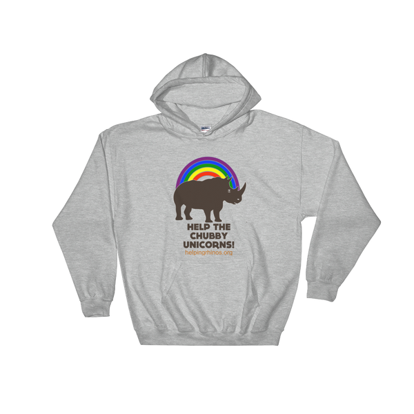 Chubby Unicorn Hoodies