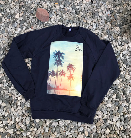 Palm Tree Crewneck