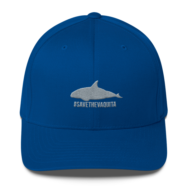#savethevaquita Flex Fit hat