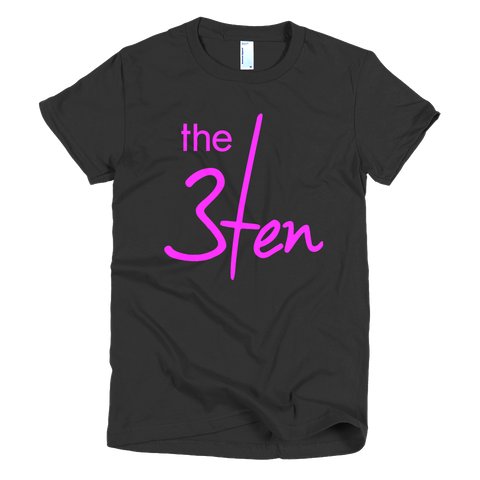 3Ten Breast Cancer Awareness Tee-Women