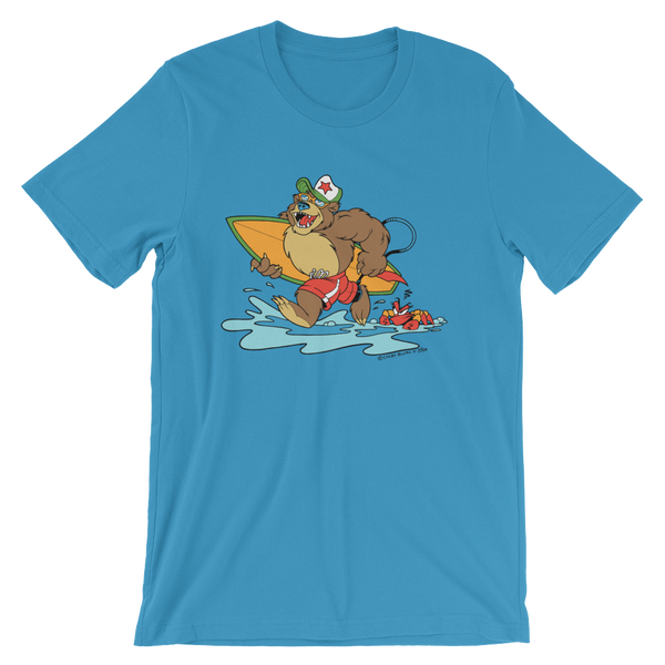 Bear at the Beach Unisex Tee