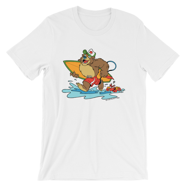 Bear at the Beach Kid's Tee