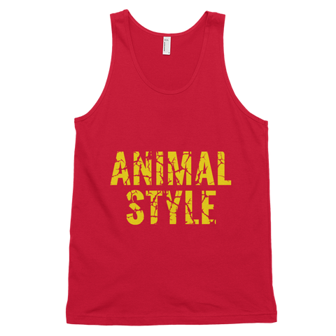 Men's Animal Style Tank Top