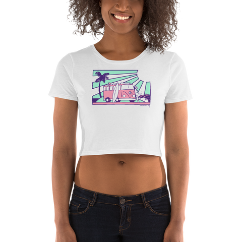 Erin Cahill VW crop top tee