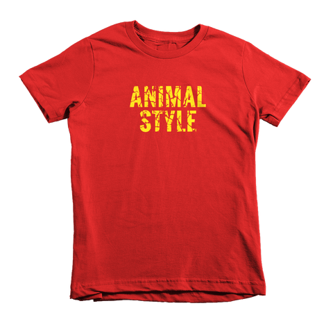 Kid's Animal Style Tee