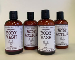 Hempseed Body Wash by A Beautiful Life