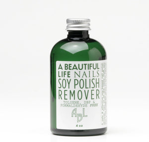 A Beautiful Life Natural Soy Nail Polish Remover