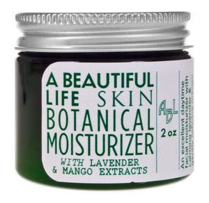 A Beautiful Life Botanical Moisturizer with Lavender and Mango Extracts
