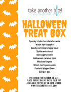 Halloween Treat Box - orders accepted until 4pm Oct 29th, or until sold out