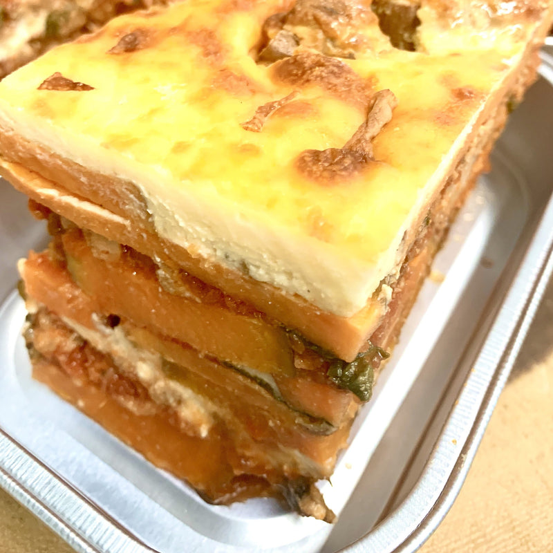 Sweet Potato Sausage Lasagna