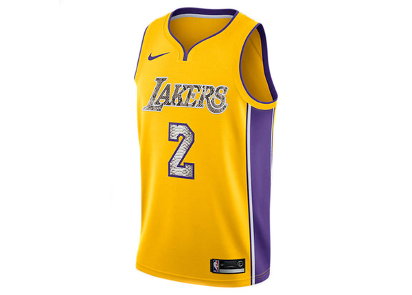 Nike Lonzo Ball Los Angeles Lakers Python Jersey
