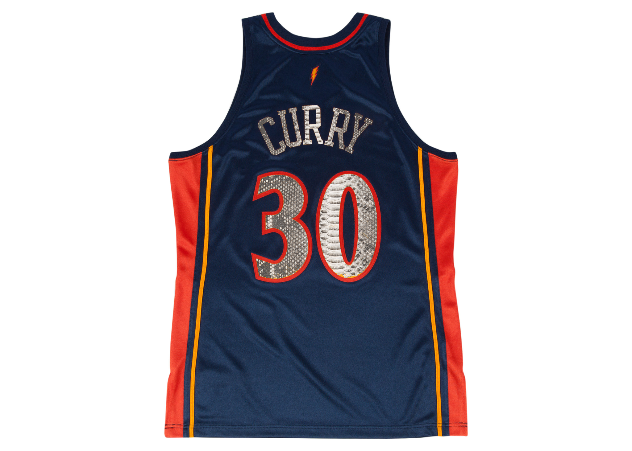 reputable site 9f7f6 f21bb Mitchell & Ness Stephen Curry 2009-2010 Golden State Warriors Python Jersey  (Away)