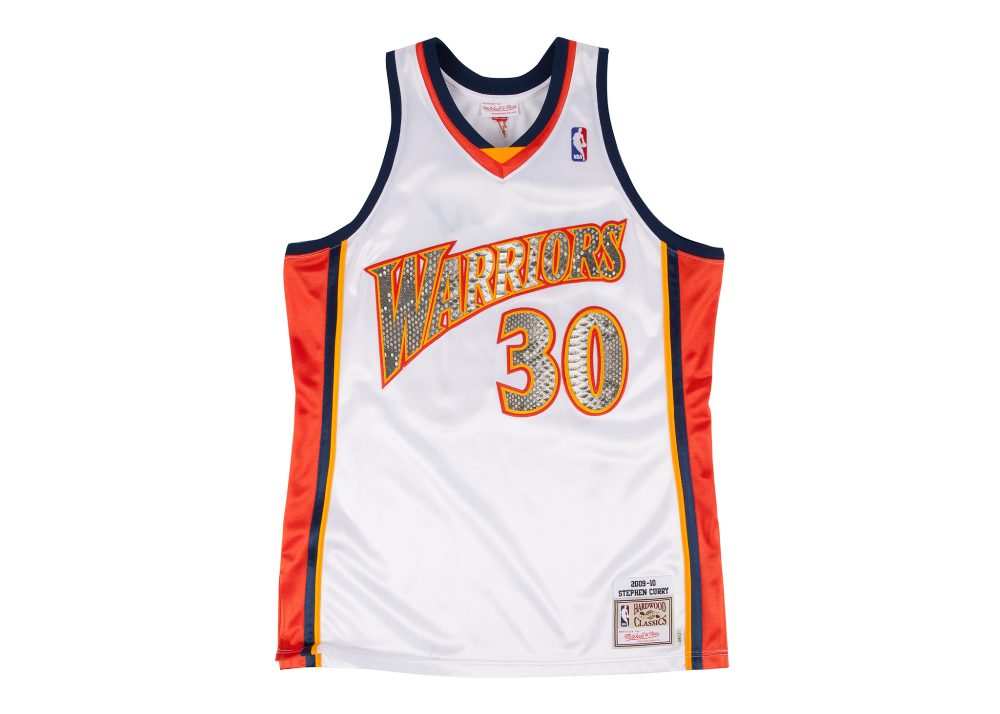 separation shoes f2940 61cac Mitchell & Ness Stephen Curry 2009-2010 Golden State Warriors Python Jersey  (Home)