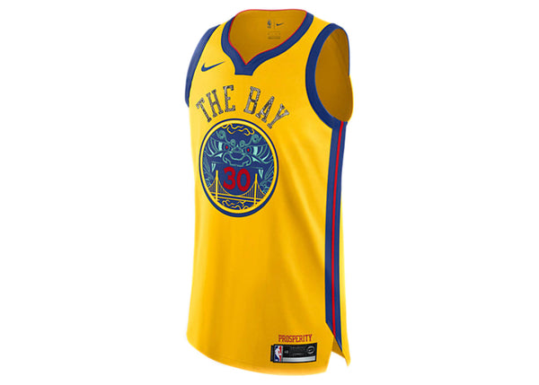 Nike Steph Curry Golden State Warriors City Edition Python Jersey