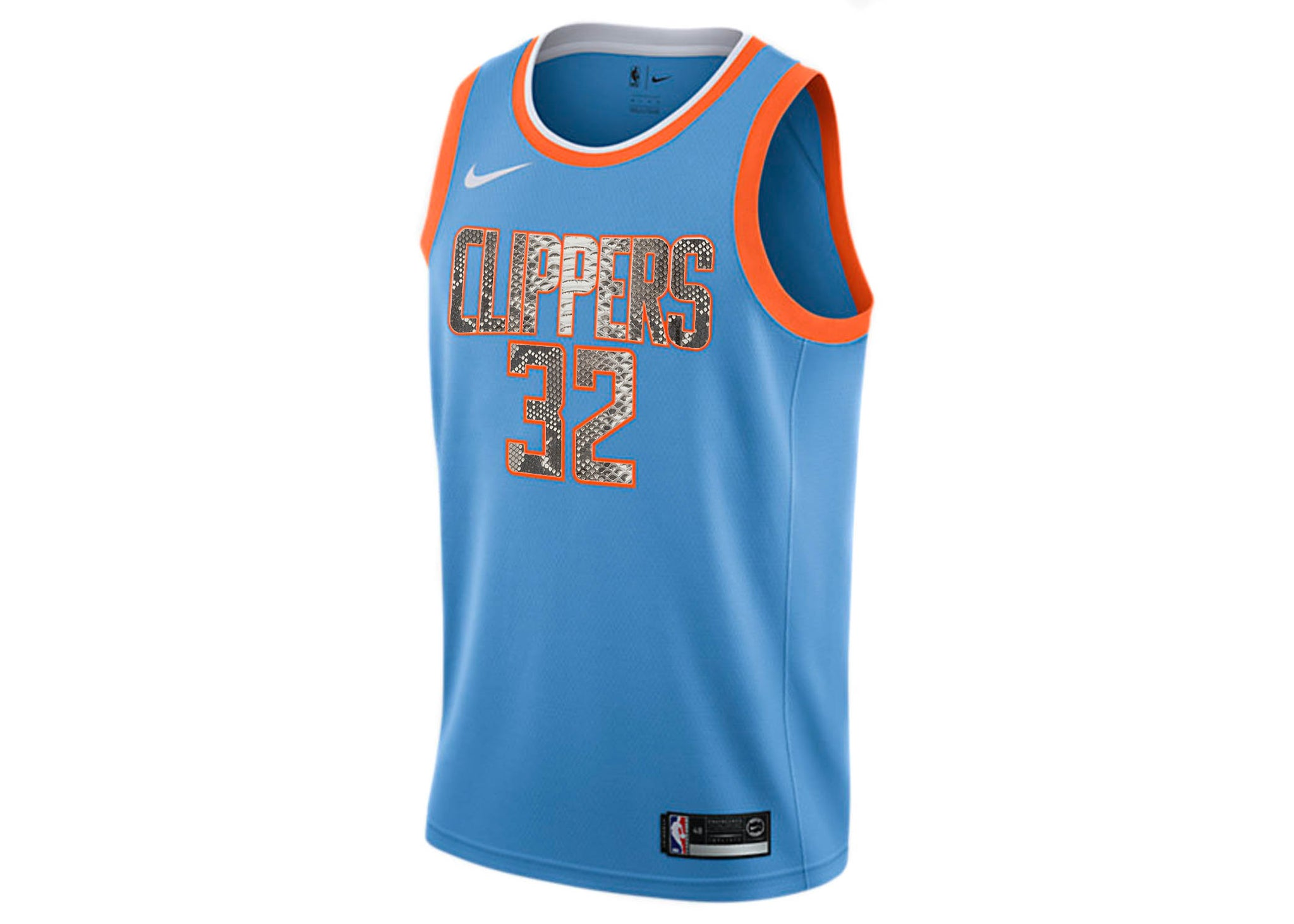 on sale dfda2 3ac7c Nike Blake Griffin Los Angeles Clippers City Edition Python Jersey
