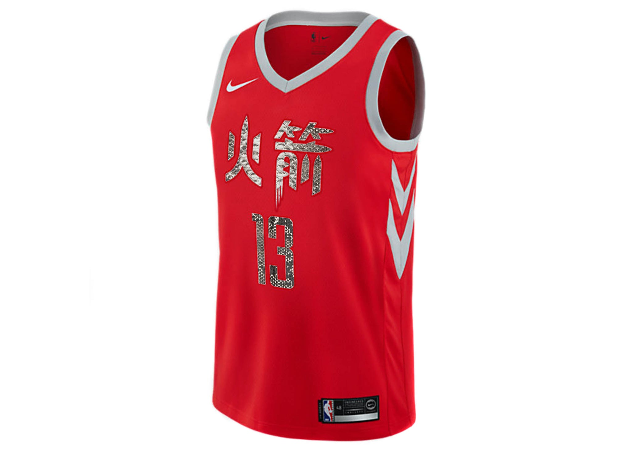 info for 3db07 77c51 Nike James Harden Houston Rockets City Edition Python Jersey