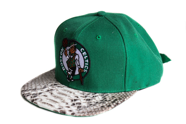 HATSURGEON x Mitchell & Ness Boston Celtics Basic Logo Strapback