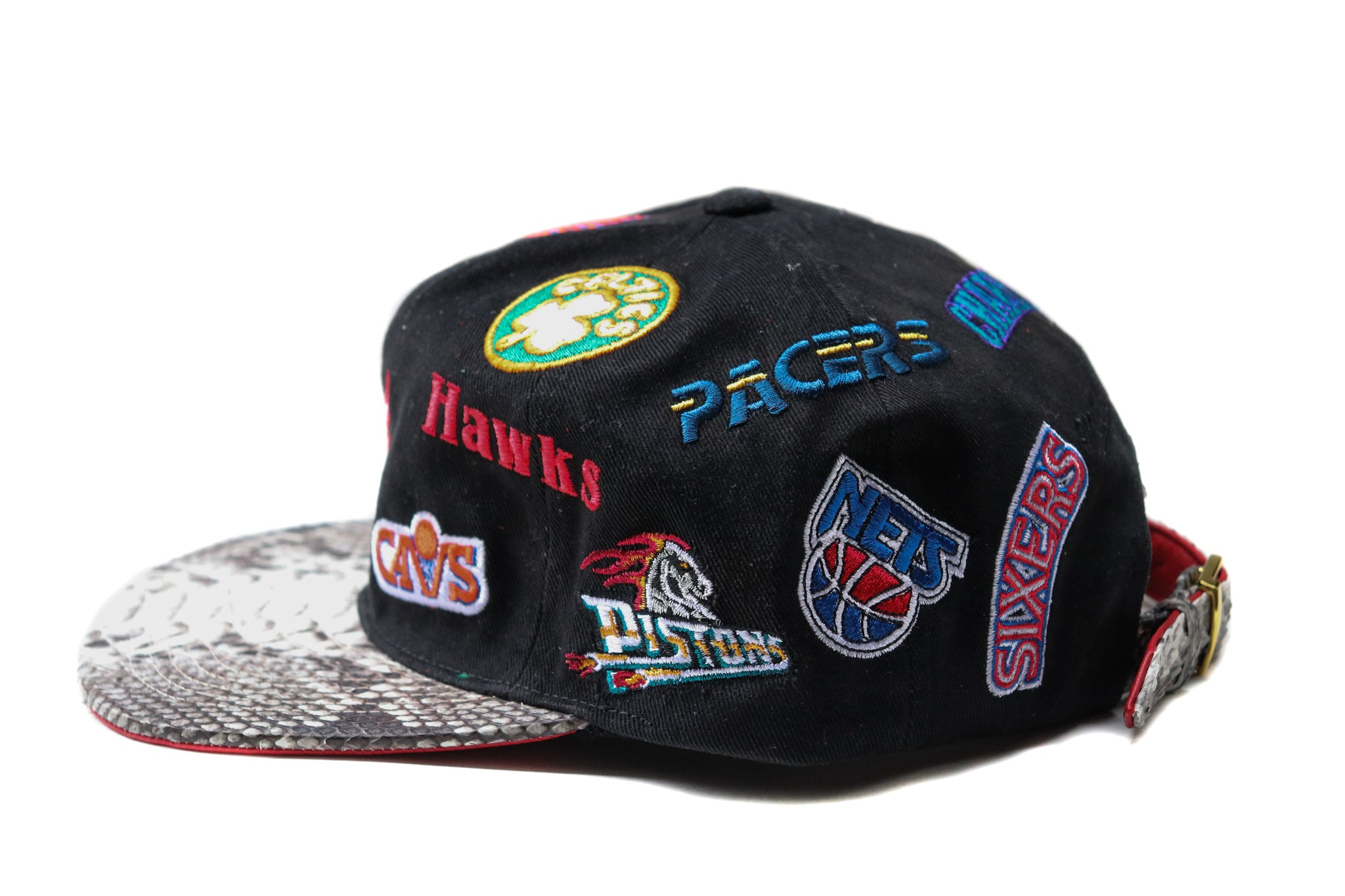 HATSURGEON x Mitchell & Ness NBA Eastern Conference Retro All Over Strapback