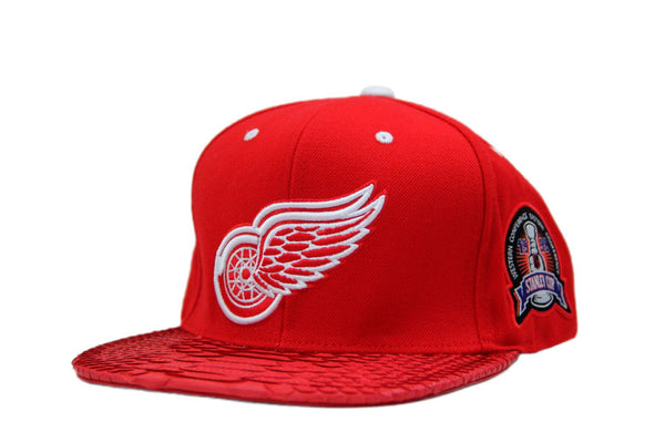 HATSURGEON x Mitchell & Ness Detroit Redwings XL Logo Strapback