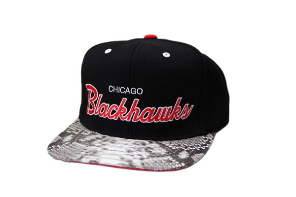 HATSURGEON x Mitchell & Ness Chicago Blackhawks The Script Strapback