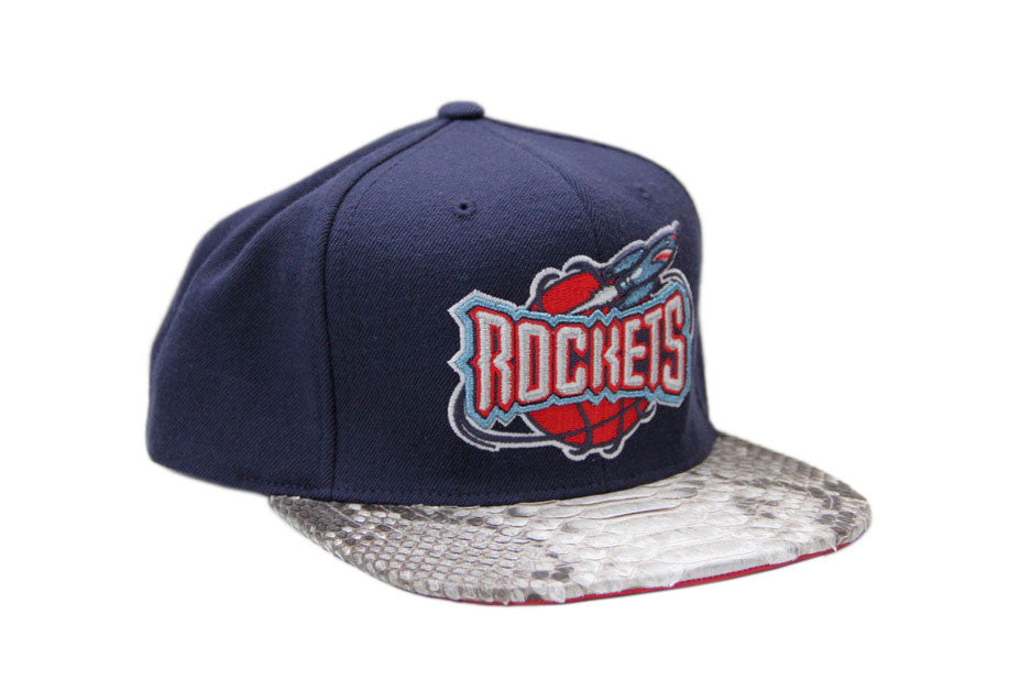 HATSURGEON x Mitchell & Ness Houston Rockets Solid Strapback