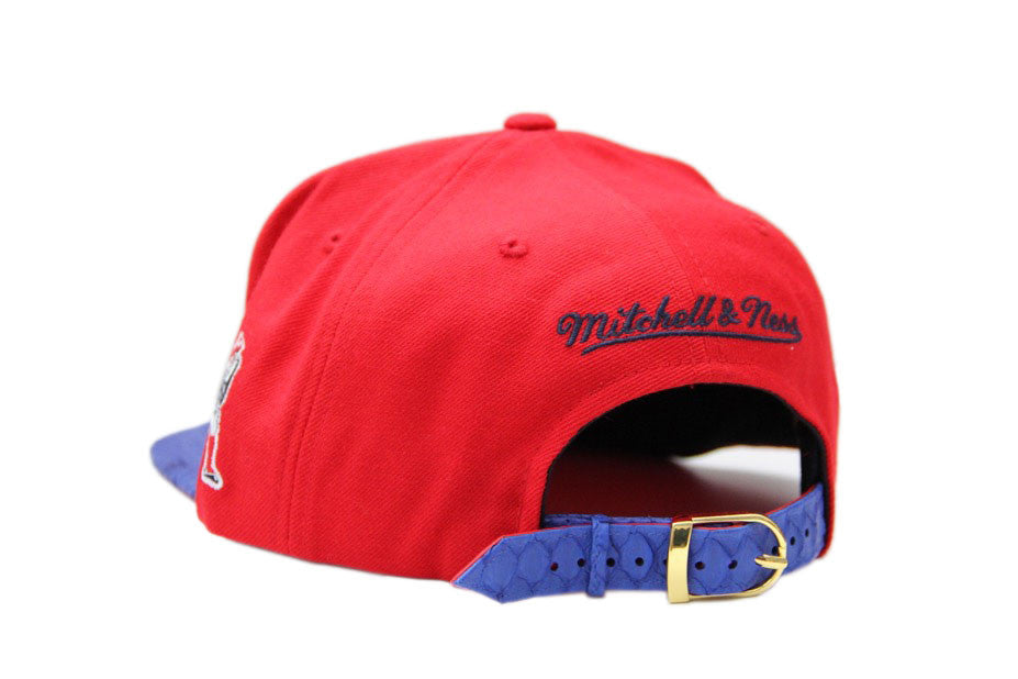 HATSURGEON x Mitchell & Ness New England Patriots Special Script Strapback
