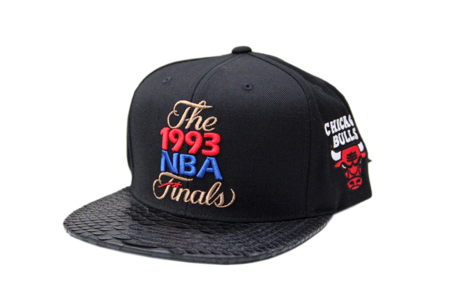 HATSURGEON x Mitchell & Ness Chicago Bulls 1993 NBA Finals Strapback