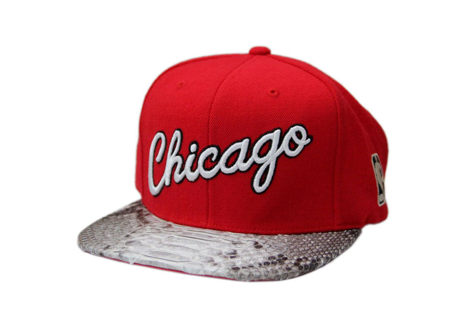 HATSURGEON x Mitchell & Ness Chicago Bulls Billboard Script Strapback