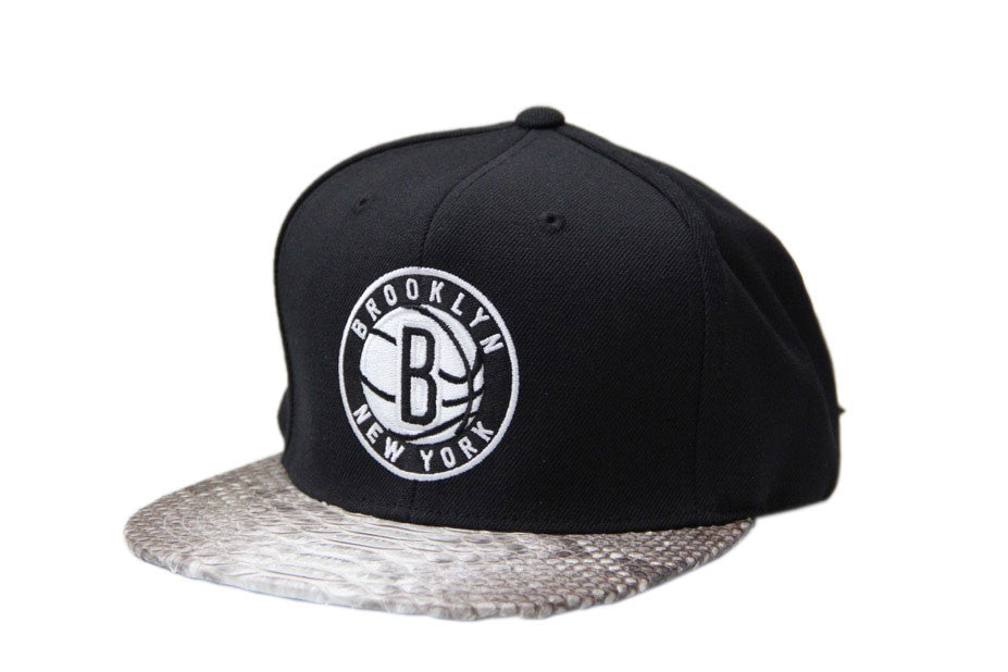 HATSURGEON x Mitchell & Ness Brooklyn Nets Solid Strapback