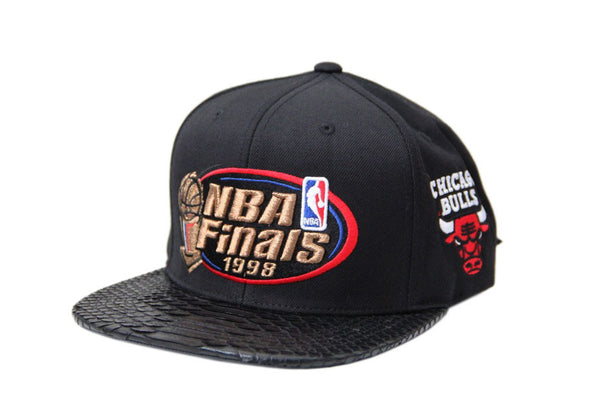 HATSURGEON x Mitchell & Ness Chicago Bulls 1998 The Finals Strapback