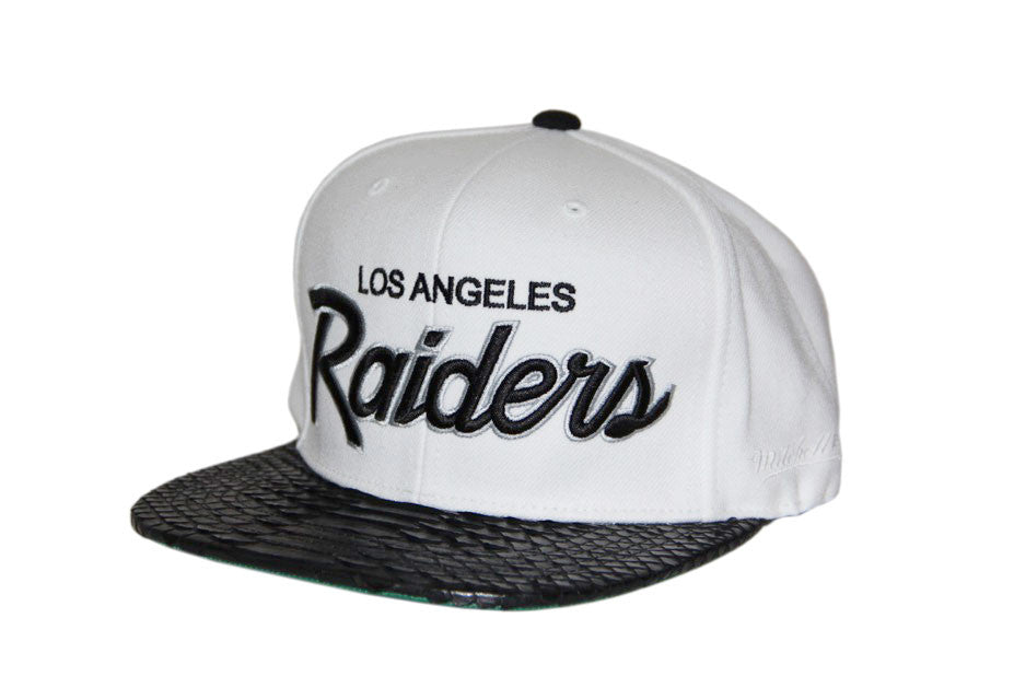 HATSURGEON x Mitchell & Ness Los Angeles Raiders The Script Strapback