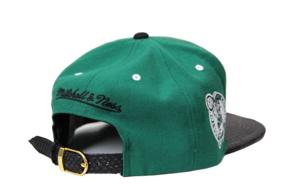 HATSURGEON x Mitchell & Ness Boston Celtics The Script Strapback