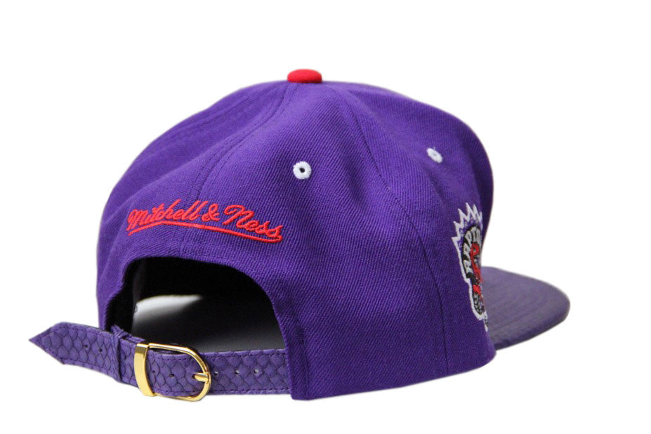 HATSURGEON x Mitchell & Ness Toronto Raptors The Script Strapback