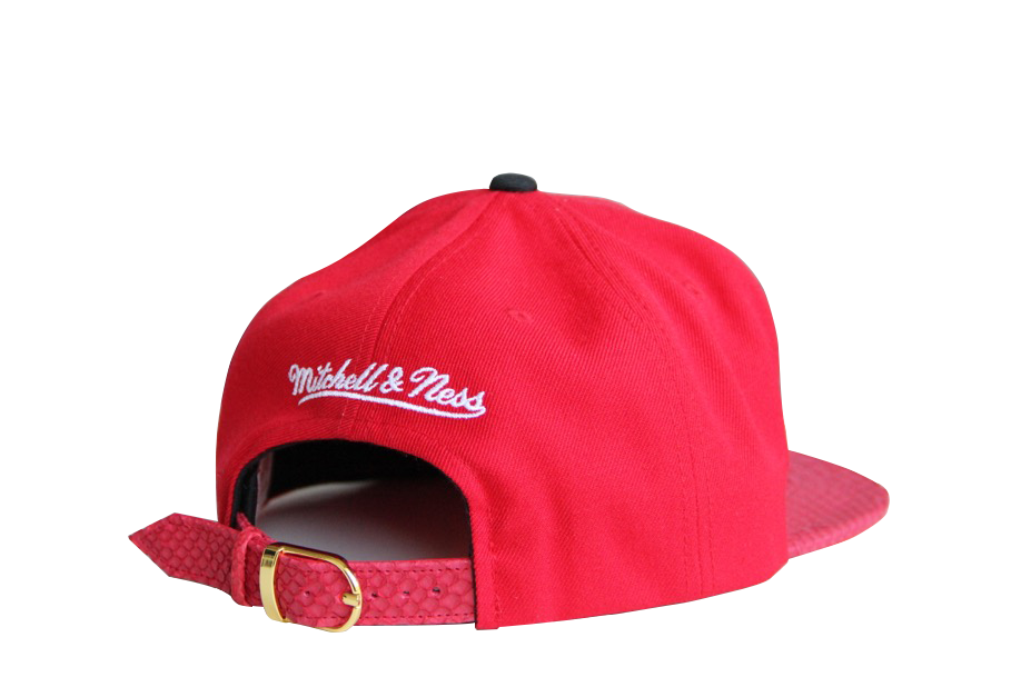 HATSURGEON x Mitchell & Ness Chicago Bulls NBA Big Poppin Strapback