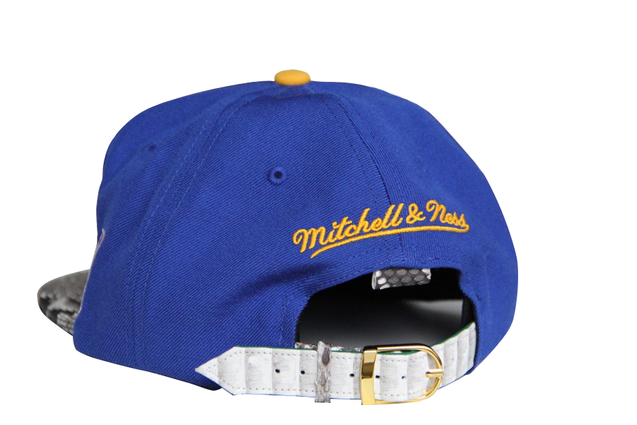 HATSURGEON x Mitchell & Ness San Francisco Warriors 2 Tone Strapback