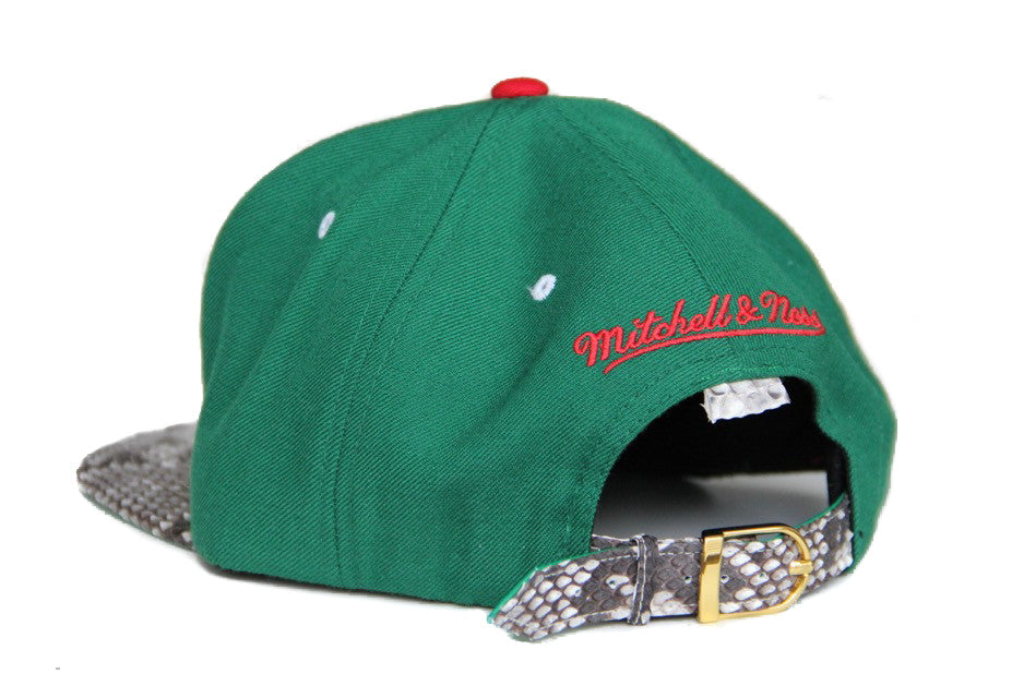HATSURGEON x Mitchell & Ness Milwaukee Bucks The Script Strapback