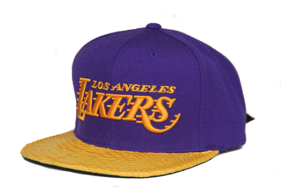 HATSURGEON x Mitchell & Ness Los Angeles Lakers NBA Solid Strapback