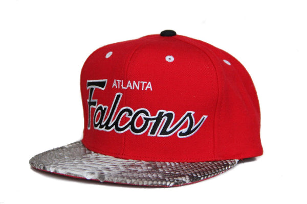 HATSURGEON x Mitchell & Ness Atlanta Falcons The Script Strapback