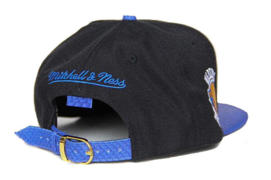 HATSURGEON x Mitchell & Ness Golden State Warriors The Script Black Strapback