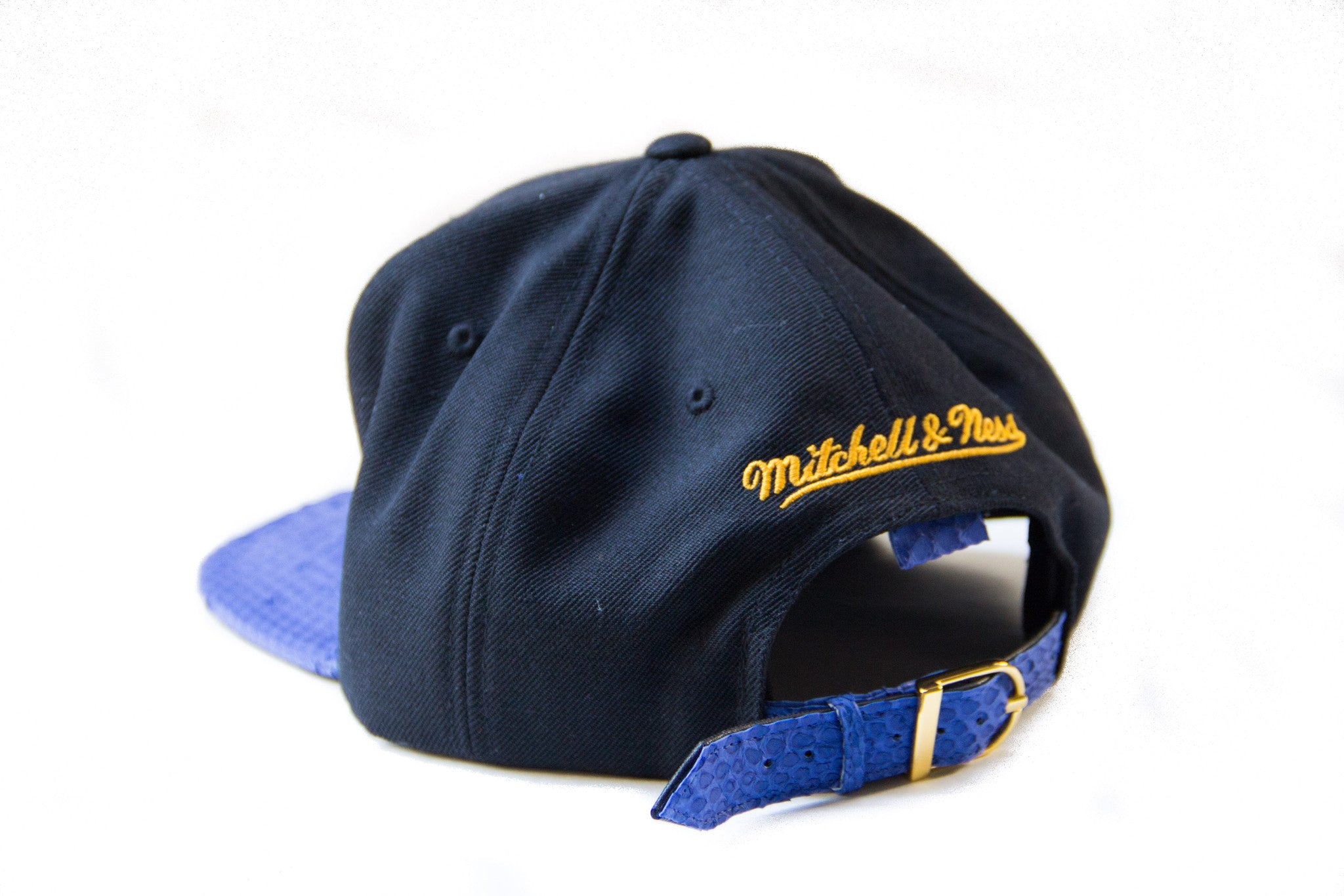 HATSURGEON x Mitchell & Ness San Francisco Warriors XL Logo Strapback