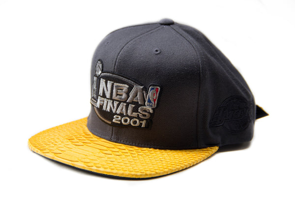 HATSURGEON x Mitchell & Ness Los Angeles Lakers NBA Finals 2001 Strapback