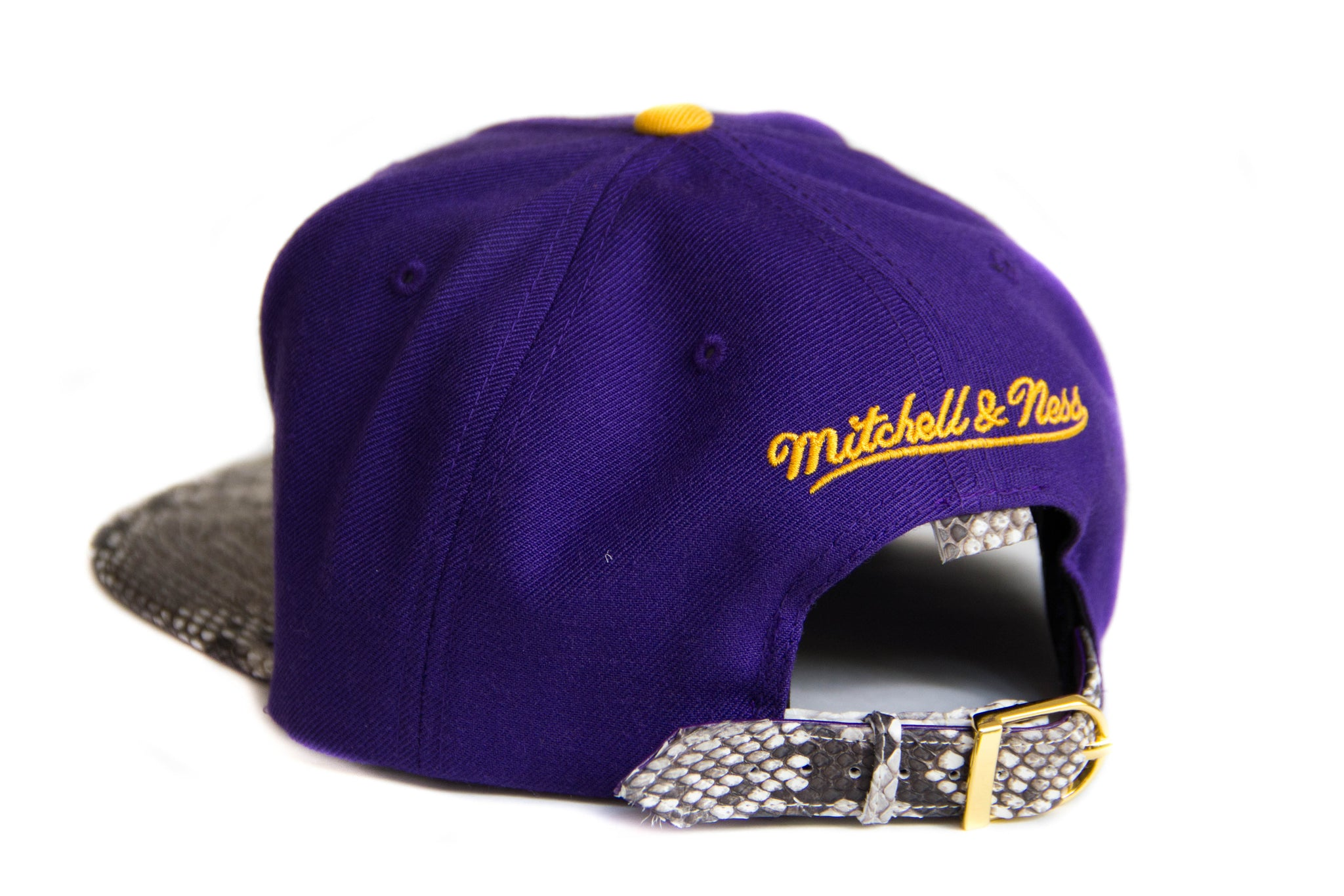 HATSURGEON x Mitchell & Ness Los Angeles Lakers Bold Print Strapback