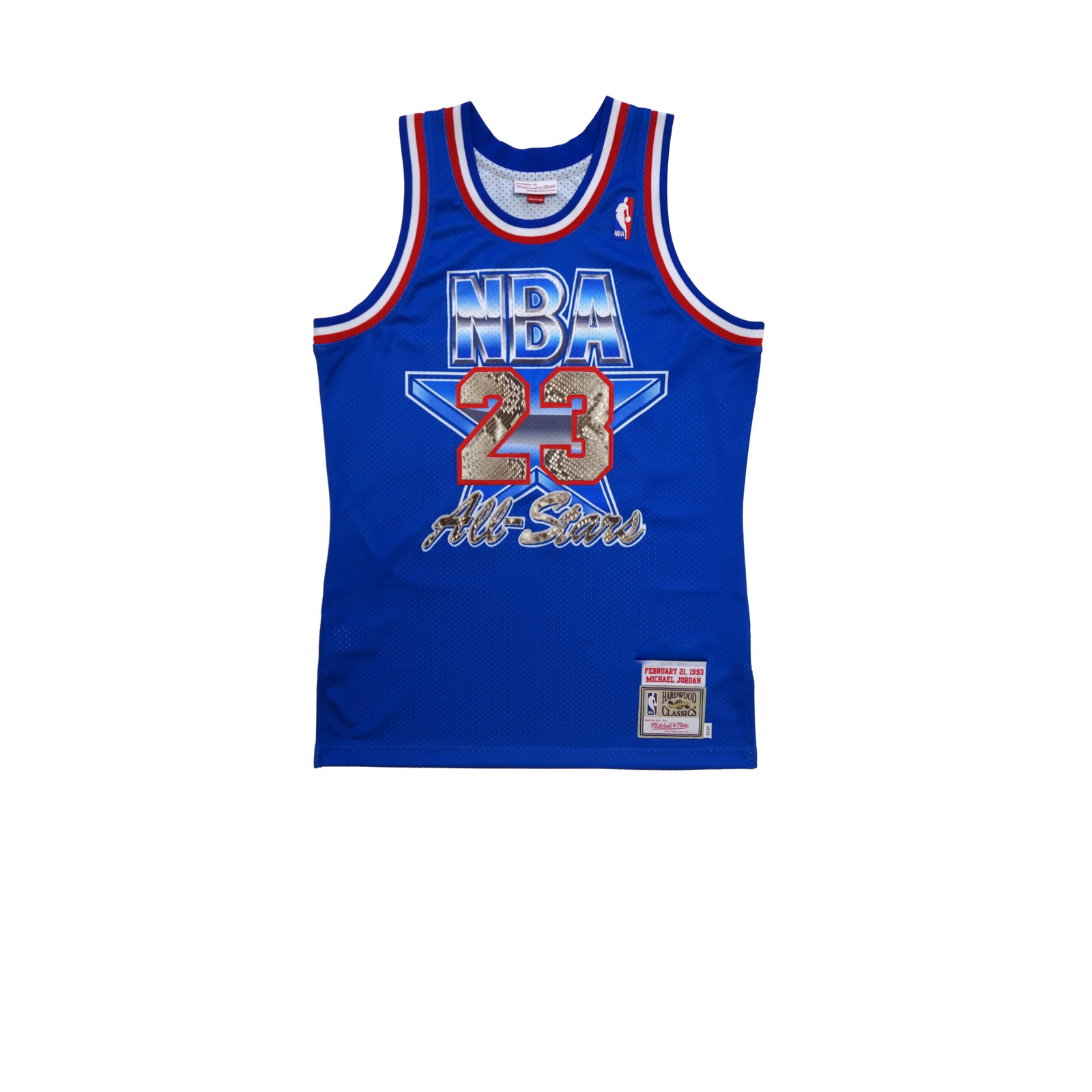 new concept 6115b 8e39c Mitchell & Ness Michael Jordan 1993 All Star Python Jersey