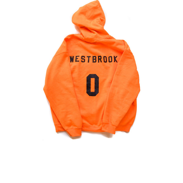 "HATSURGEON x Russell Westbrook Python ""Safety Orange"" Hoodie"