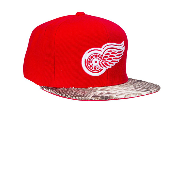 HATSURGEON x Mitchell & Ness Detroit Red Wings Basic Logo Strapback