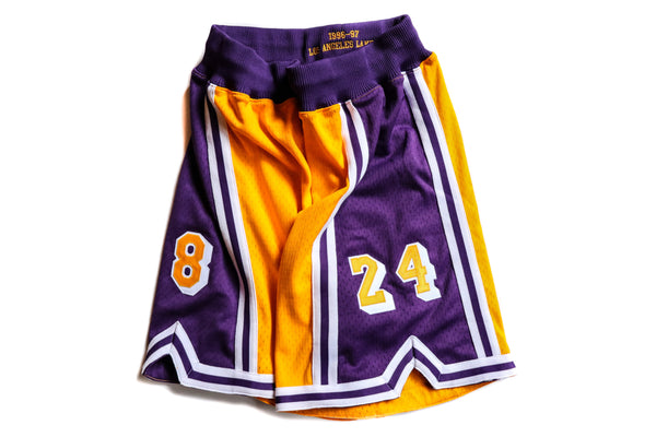 Mitchell & Ness Los Angeles Lakers 1996-1997 Kobe Bryant Edition Shorts