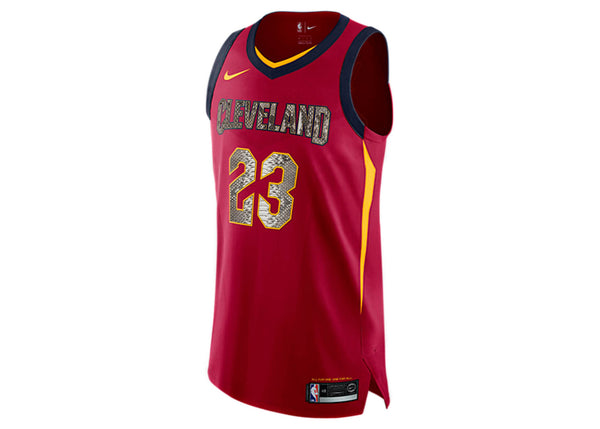 Nike LeBron James Cleveland Cavaliers Python Jersey
