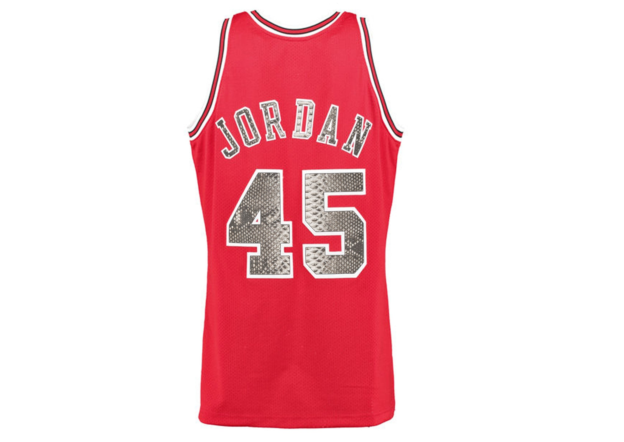 timeless design 287ea aae90 Mitchell & Ness Michael Jordan 1994-1995 Homecoming Chicago Bulls Python  Jersey